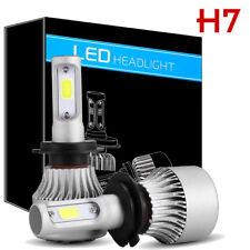 CREE COB H7 72W 16000LM LED Headlight Kit High Low Power Beam Fog Bulbs 6000K