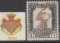 Italy Libia - Sassone n. 58  MNH** incredible centered cv 4800$