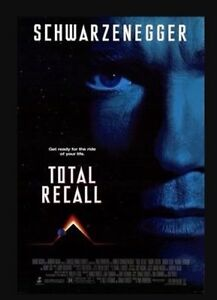 Brand New DVD Total Recall The Arnold Schwarzenegger Sharon Stone