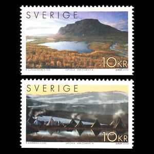 Sweden 2004 - EUROPA Stamps - Holidays UNESCO World Heritage - Sc 2479a-b MNH