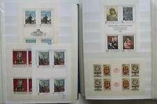 CZECHOSLOVAKIA NICE COLLECTION ART 4 SHEETS + EXTRA MNH** /da800