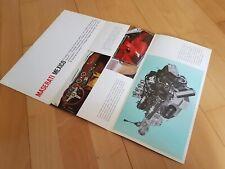 Maserati Mexico 1. Serie Prospekt Brochure Catalog Catalogue