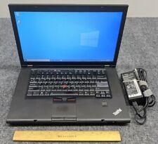 "Lenovo ThinkPad T520 15.6"" Laptop Core i7-2620M, 4GB RAM, 500GB HDD w/Adapter"