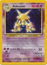 Alakazam 1/102 Holo Rare Pokemon Base Set Pokemon Trading Card