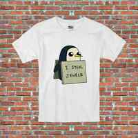 I Steal Jewels Gunter Adventure Time Penguin TV Show Inspired T-Shirt S-2XL
