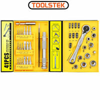 41 IN 1 Ratchet Wrench Screwdriver Set, + Micro Screw Driver Mini Bits