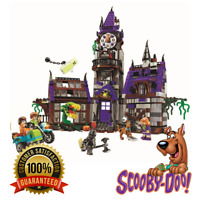 Scooby Doo Mystery Mansion Compatible Lego 75904 Shaggy Velma Vampire Kids 860pc