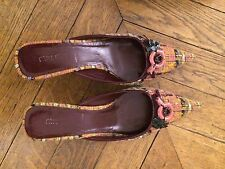 Chaussures Mules MIU MIU (PRADA) Pointure 37,5 italien (38,5 français)