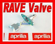VALVOLA RAVE cnc  +  SUPPORTO VALVOLA  APRILIA RS 125 ROTAX 122 - 123
