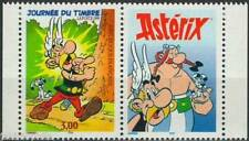 STAMP / TIMBRE FRANCE NEUF N° 3226 ** + VIGNETTE ASTERIX ISSUS DE CARNET