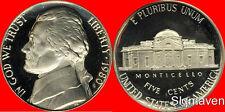 1980 S Jefferson Nickel  Deep Cameo Gem Proof No Reserve