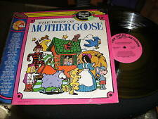 Merry Singers-best Of Mother Goose-shrink Lp-merry-6001