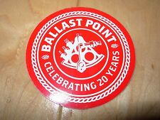 BALLAST POINT BREWING COMPANY sculpin Red STICKER decal craft beer brewery