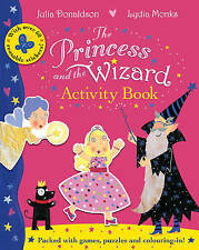 The Princess and the Wizard Activity Book by Julia Donaldson-9780230741096
