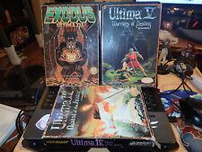 Ultima RPG Computer Game Set Apple Lot II IV V 1983, 1985, 1988 Origin Systems