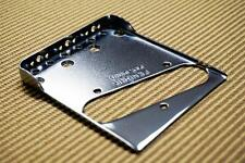 Fender Telecaster Bridge Plate w/Double Long Notches & Drilled for Top-Load