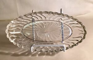"Fostoria Crystal Colony 8"" Pickle Tray"