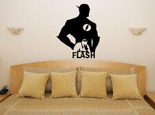 Flash Súper heroe Ventilador Infantil Adhesivo para dormitorio pared imagen