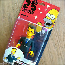 """THE SIMPSONS 25 Greatest TOM HANKS Guest Stars Series 1 Action Figure NECA 5"""""""