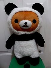 "San-X Rilakkuma Plush 19"" Game Doll - Panda Version Very CUTE!!"
