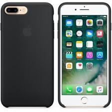 New Genuine Apple iPhone 8 Plus 7 Plus & iPhone 7/8 Leather Case - Black