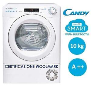 ASCIUGATRICE 10 KG A++ POMPA DI CALORE SMARTPRO WIFI+BLUETOOTH CANDY CSOH10A2DE