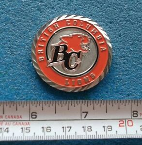 BRITISH COLUMBIA BC LIONS CHALLENGE COIN / DÉFI COIN CFL FOOTBALL LCF # Z203