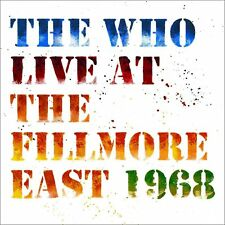 THE WHO Live At The Fillmore East 1968 (2018) Deluxe Edition 2-CD NEW/SEALED