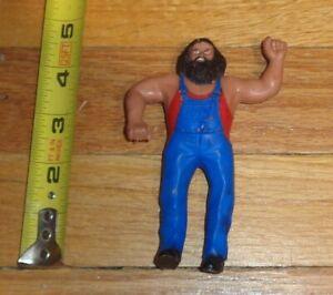 1985 WWF WWE LJN Toys Hillbilly Jim Bendie Wrestling Figure Bendy