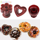 Round Heart Flower Donut Cookies Cutter Pastry Desserts Pudding Cake Mold Mould