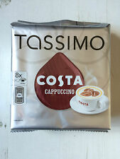 TASSIMO Costa Variety Pack of 2 Latte Cappuccino