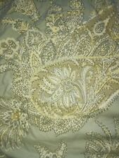 """Pottery Barn Queen Down Comforter """"Lewis"""" Paisley Floral"""