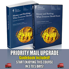 Money and Banking What Everyone Should Know DVD New Sealed Great Courses