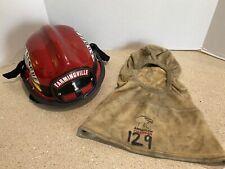 Bullard LT Series Fire Fighter Helmet Red Firefighting American Fireware Hood