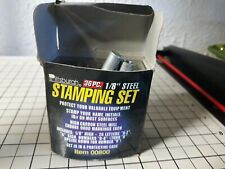 "Pittsburgh Steel Stamping Set, 1/8"" 36 Pc A-Z, O-8"