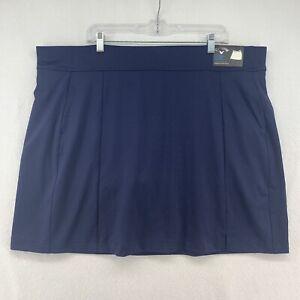 Navy Blue Callaway Golf Skirt w/ Attached Shorts Skort, Size 3X NEW UPF 50