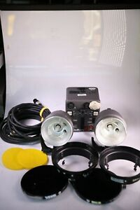 Dynalite RP500 Pack w/ 2 Flash Heads, Cables and Accessories