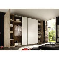 MATCH - Armadio in colore quercia san remo/bianco, 316x226x61cm …