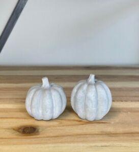 NEW Concrete smooth Pumpkin - small halloween autumn decor