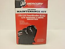 OEM Mercury 100 Hr Maintenance Kit - 75-115HP FourStroke 2.1L Outboard 8M0097854