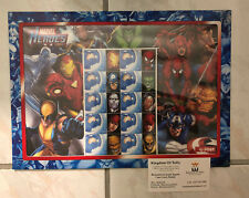 Marvel Heroes Special Events Sheetlet Brand New Still in Packet. Mint