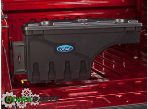 OEM NEW Ford F150 Truck Bed Wheel Well Pivot Lockable Tool Storage Box Kit Right
