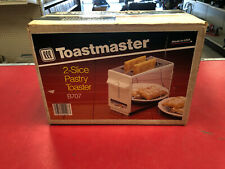 Vintage 1980s Toastmaster 2-Slice Pastry Toaster Model B707 NEW IN BOX