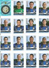 INTER FC  27 FIGURINE SERIE PANINI MODENA ADESIVE 2012-2013