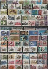 SOUTH AFRICAN AFRICA LOT 100 DIFFERENT STAMPS USED LOOK SCANS