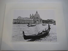 """""""Venice, 2002"""" Gondolas on the Grand Canal Photograph, Signed by G. Linja (?)"""