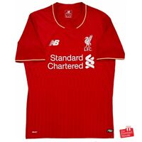 Authentic New Balance Liverpool 2015/16 Home Jersey. BNWOT, Size S.