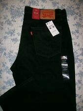 Levis 514 Straight Fit 34x32 Mens Jeans 34 x 32 Faded Black Straight Fit
