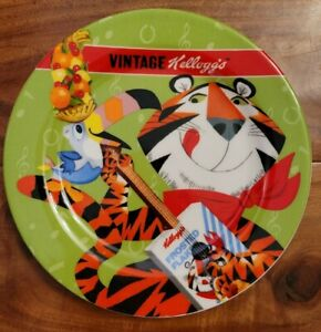 Kellogg's vintage Plate with tony the tiger and toucan Sam