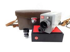 Leitz Leica Leicina 8S Filmkamera Objektiv Dygon 2/9mm und 15mm